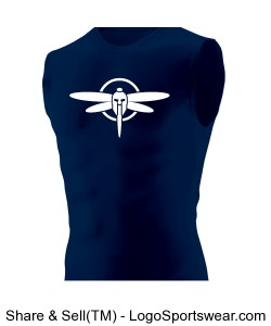 Hyperform Sleeveless Compression Shirt Design Zoom