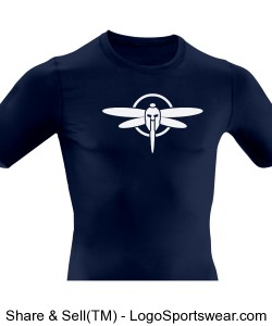 Adult Compression Tech Short Sleeve Shirt Design Zoom